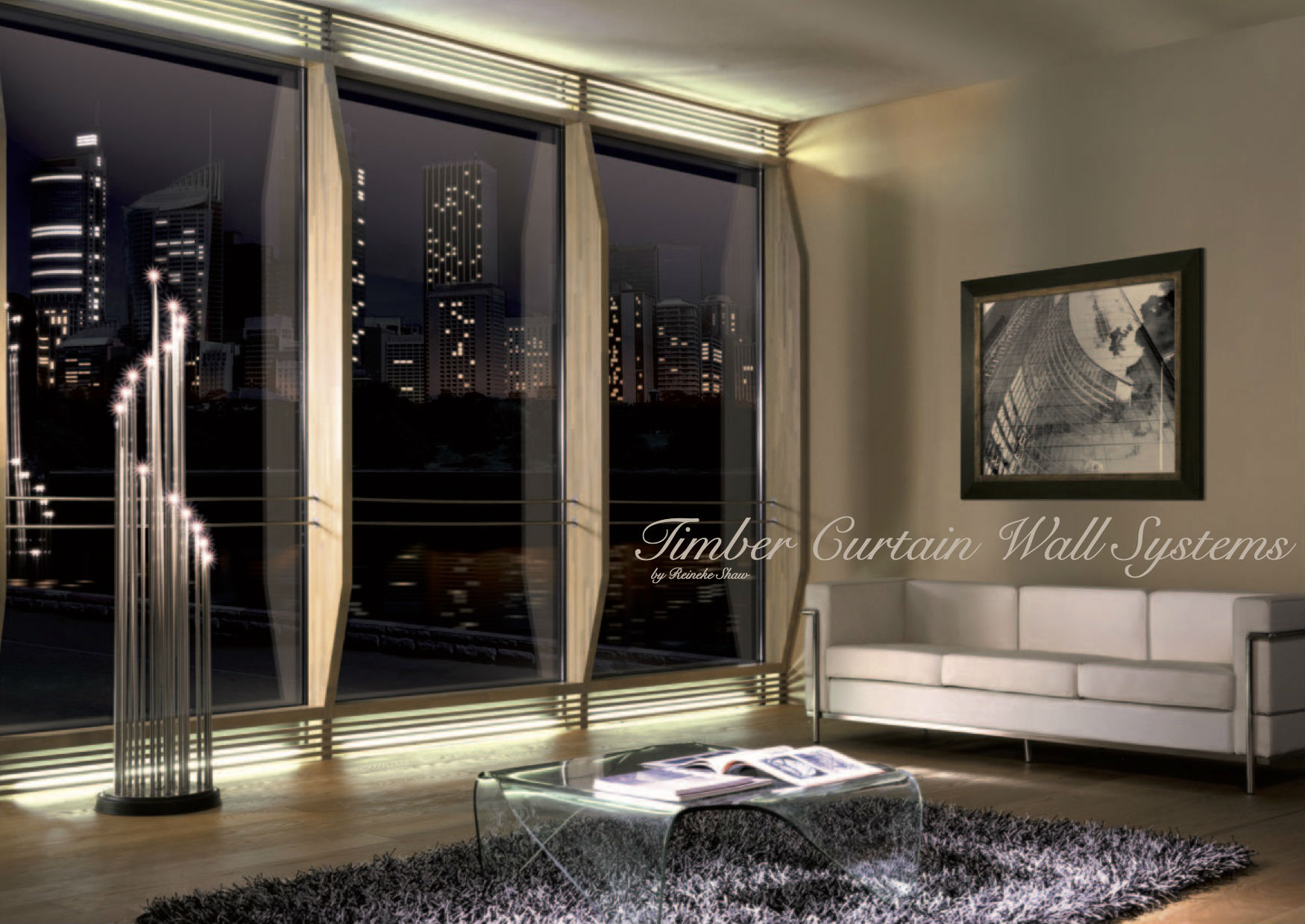 Unitherm Timber Curtain Window Wall Systems