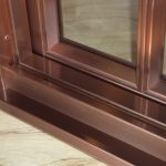 Copper Clad Interiors with TDL's - Sill Detail