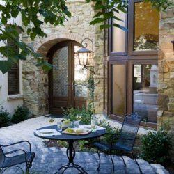 White Oak Entry & Window Wall